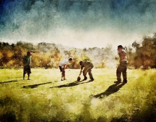 Thanksgiving Day Football by Petyr Campos