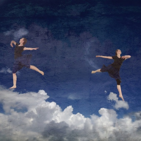 Sky Dancers by Edi Caves using Distressed FX